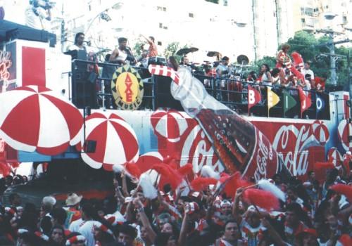 Trio Beijo Coca-Cola 1992