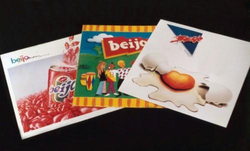 Primeiras capas da axé music - Banda Beijo