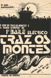 Primeiro Cartaz da Banda Scorpius - atual Chiclete