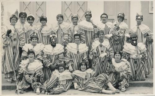 Foto de meus tios no Carnaval de Salvador