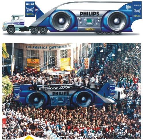 Trio Cheiro Philips - carnaval 1998