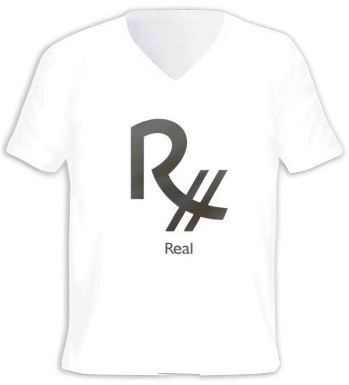 Camisa com o Símbolo do Real brasileiro.