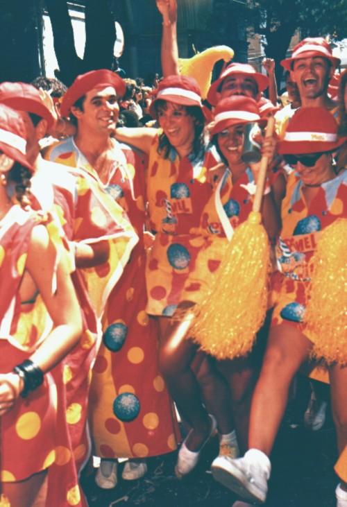 Mortalha do Pinel Carnaval 1987