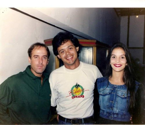 Sotelino, Paulo Mello e Ivete nos tempos da Beer Banda