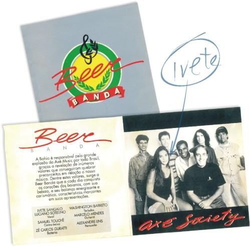 Folder Beer Banda com Ivete