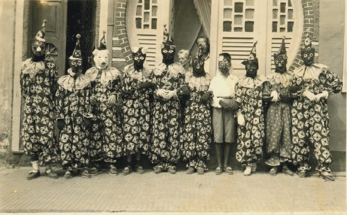 Caretas no Carnaval de Salvador 1953