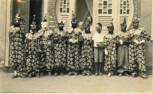 Caretas no Carnaval de Salvador 1953