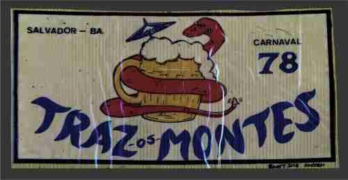Bloco Traz-os-Montes 1978 - plástico