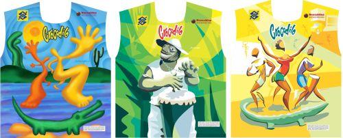 Abadás do Crocodilo 2011: homenagem a grandes pintores brasileiros.