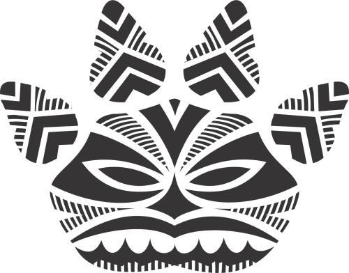 Camaleão Tatoo Maori II