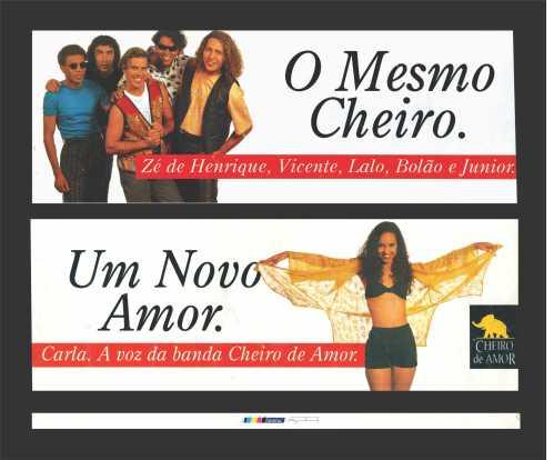A Banda Cheiro anuncia Carla Visi para o Carnaval 1996