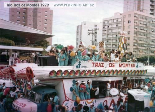 Trio do Traz os Montes/Tapajós em 1979