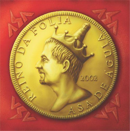 Capa cd Asa de Águia 2001 - 2002.