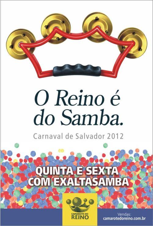 Camarote do Reino - Campanha da Quinta do Samba