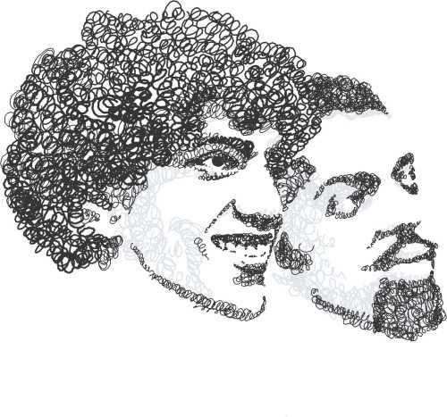 Caetano e Gil, em tempos de carnaval baiano.