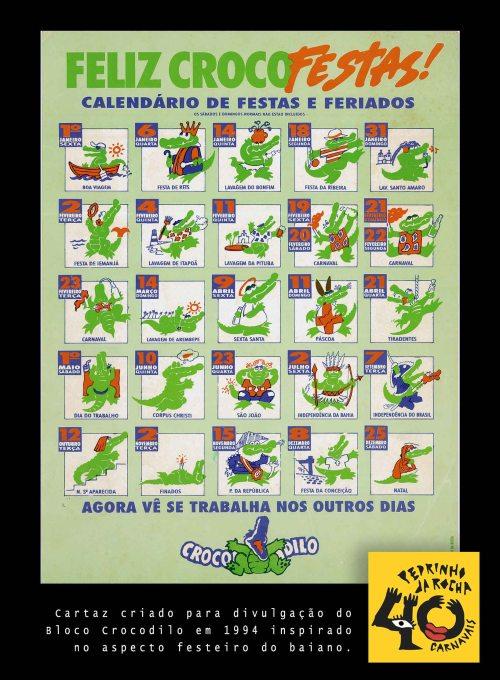 Cartaz Crocodilo 1994