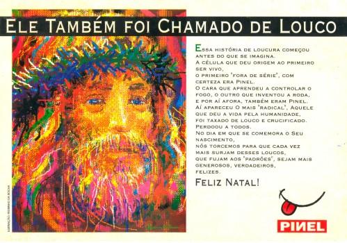 Cartão Cristo Pinel